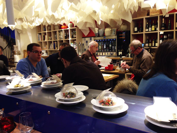 Bon appétit! We try conveyor-belt French food in Paris