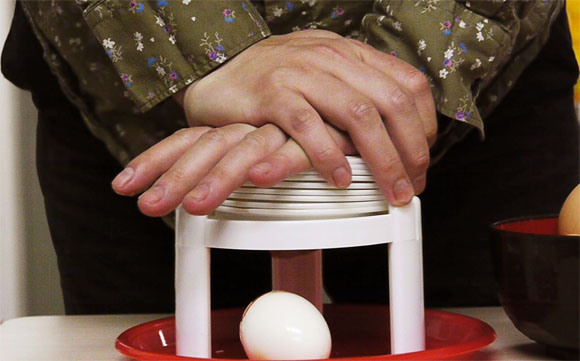 Our Japanese reporters actually like the Eggstractor, deem it an important step in egg technology