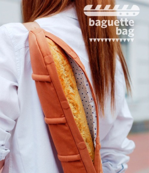 We order awesome Baguette Bag from Ukraine! Now we can have French bread anytime, anywhere