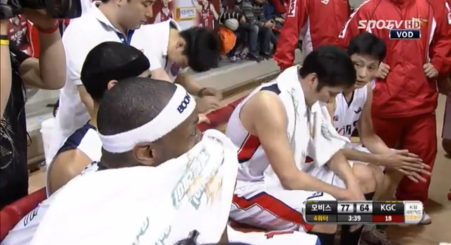 Korean basketball coach humiliates player live on TV, tapes his mouth shut