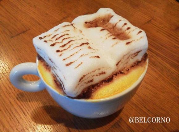 Belcorno 3D latte art10