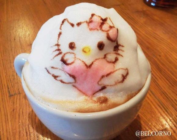 Belcorno 3D latte art9