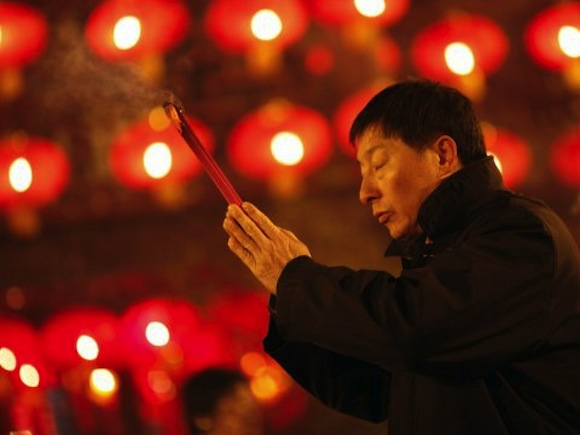 A temple in China reportedly charged $19,470 to light the first incense stick for the new year
