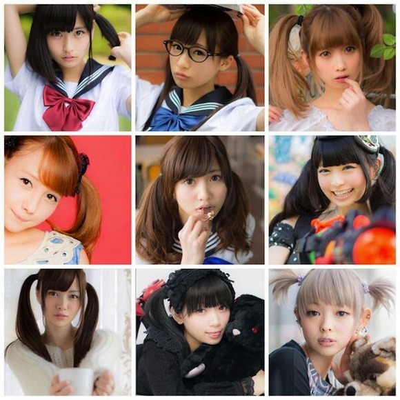 Twin Tail Day makes Twitter a paradise for guys in Japan【Photos】