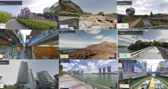 Japan dominates the list of most visited Google Street View locations in Asia