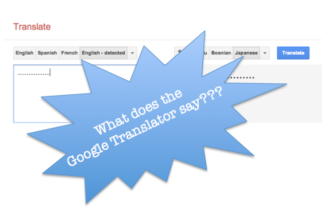 "Japanese pronunciation of ""……"" in Google Translate gives us a laugh"