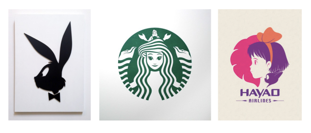 Pop artist makes familiar logos even better with Ghibli characters and more