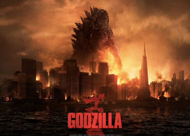 New Godzilla towers over San Francisco in poster