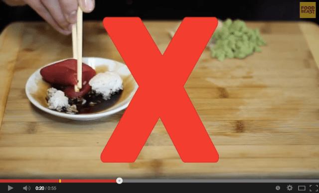 How to eat sushi like a sensei 【Video】