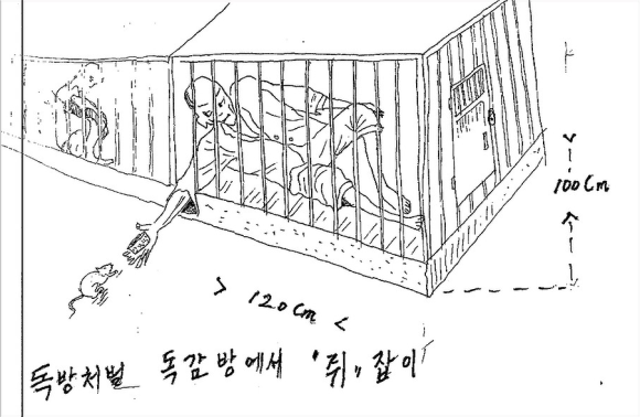Survivor of North Korean gulags makes wrenching drawings of what happens inside2