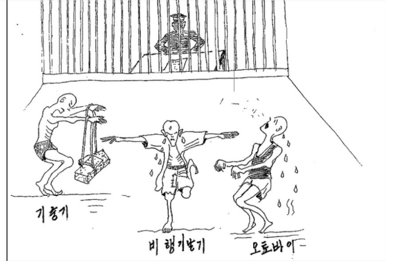 Survivor of North Korean gulags makes wrenching drawings of what happens inside6