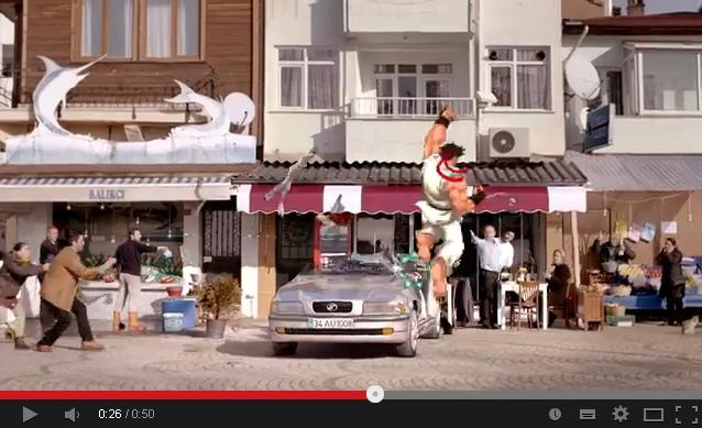 Turkish insurance commercial promises coverage from random acts of Ryu