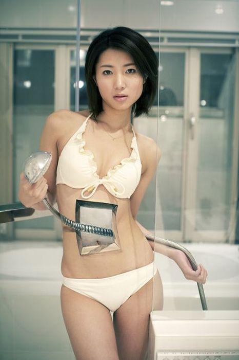 Hikaru Cho's 'optical illusion' body art, round two