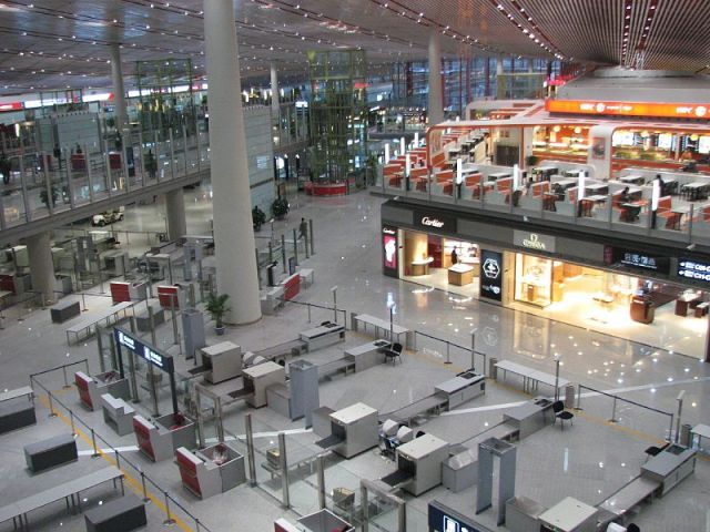 Man shuts down Beijing airport after joke bombs with security officials