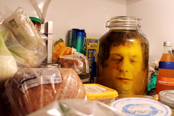 "Fresh out of a sci-fi film! Make your own ""head in a jar""!【Instructions】"