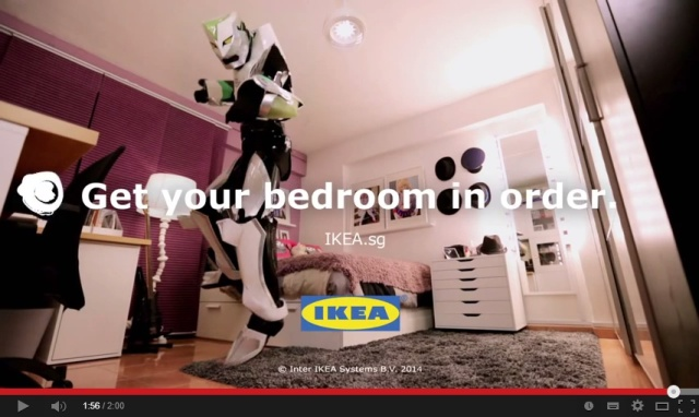 Cosplay attains mainstream status in IKEA Singapore's latest online campaign!