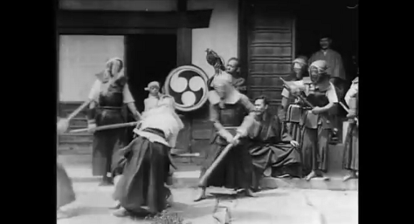World's oldest kendo video is part martial arts, part Buster Keaton, all amazing