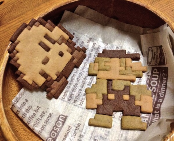 Kirby and Mario cookies