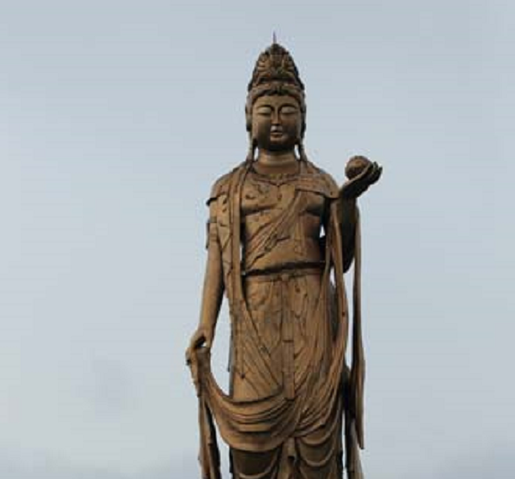 55-foot tall statue of Buddhist goddess of mercy could be yours for just 10 bucks