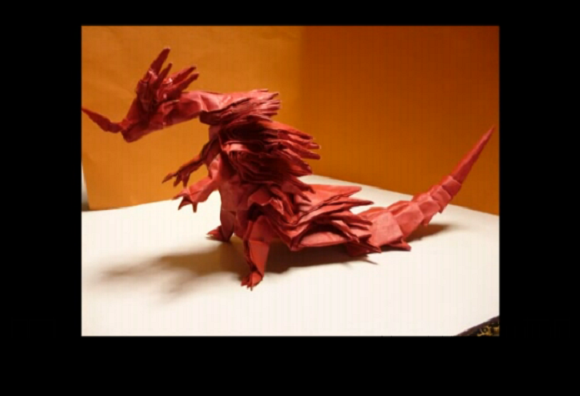 Awesome origami artist recreates the creatures of Monster Hunter 【Videos】
