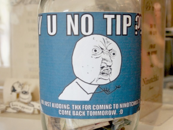Stingy people rejoice as Japanese restaurants in New York introduce a ban on tipping