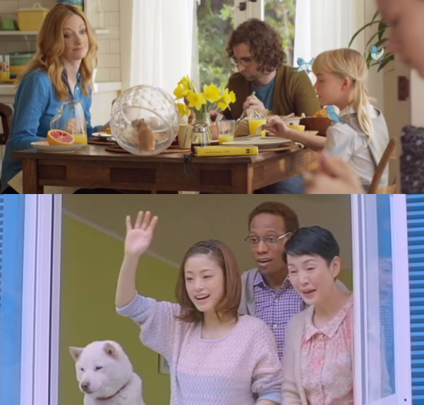 "Sprint takes a cue from popular Japanese ad campaign in bizarre ""Framily"" commercial"