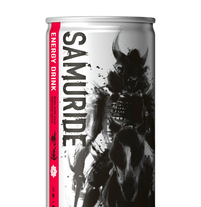 New Japanese energy drink designed to help samurai, salarymen accomplish mighty deeds