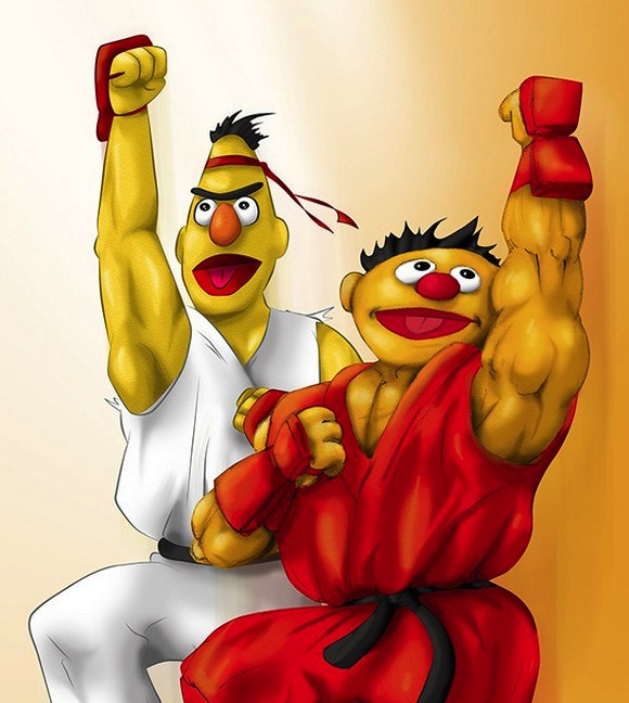 Sesame Street Fighter, the most badass children's TV show ever (if only there were a show for it)