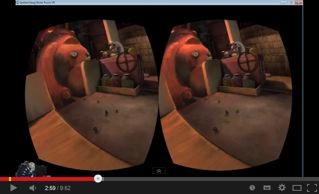 Bring the boiler room of Spirited Away to virtual life with Oculus Rift