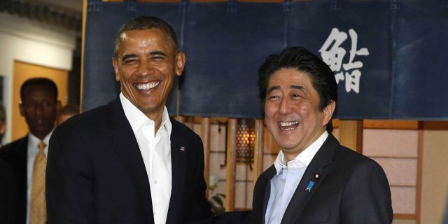 17 mouthwatering photos from the legendary sushi restaurant where Obama just ate dinner