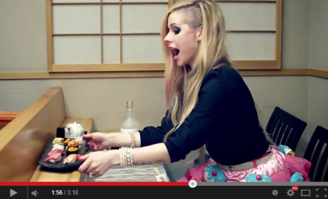 Does Avril Lavigne's Tokyo music video really have anything to do with Japan?