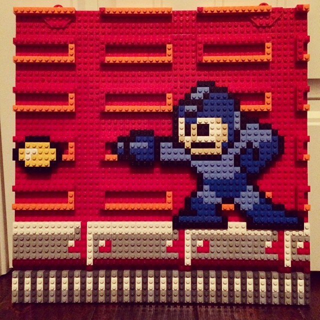 Shut up and take my money: Awesome handmade Lego video game art on sale now