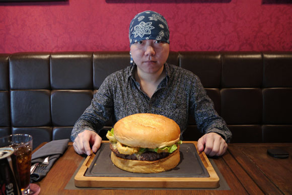 We take on Thailand's five-and-a-half-pound hamburger, and live to tell the tale
