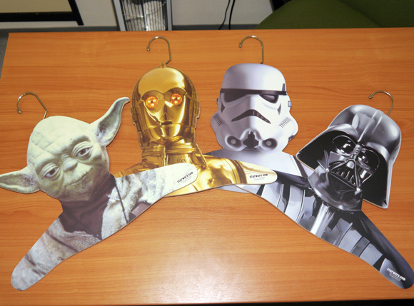 "Star Wars ""Cos-Me"" hangers now on sale in Japan – Turn your coat into Vader's cloak!"