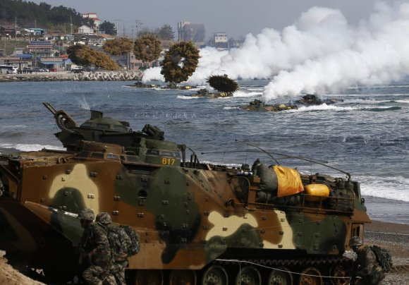 Here's the military exercise that has North Korea freaking out