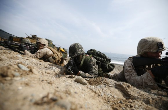 Here's the military exercise that has North Korea freaking out12