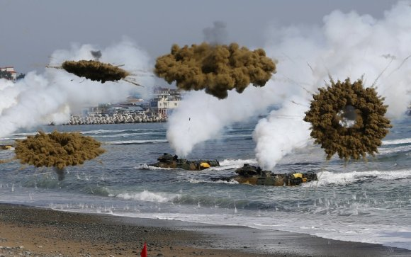 Here's the military exercise that has North Korea freaking out3