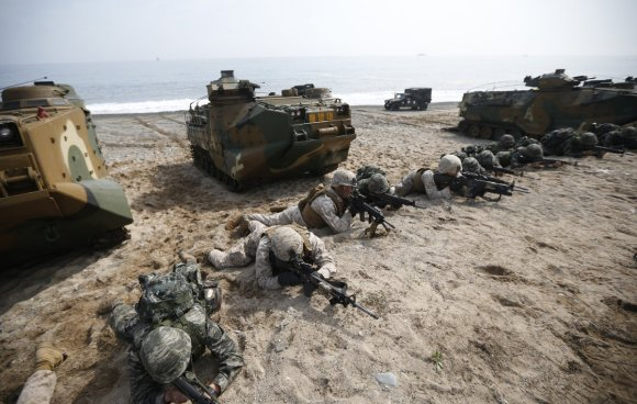 Here's the military exercise that has North Korea freaking out5