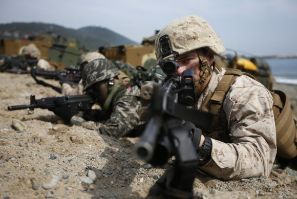 Here's the military exercise that has North Korea freaking out8