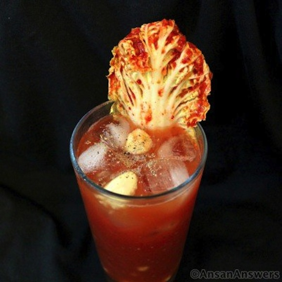 Kimchi cocktail offers a taste of Korea that no Korean would actually endorse