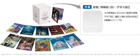 Miyazaki DVD box 2