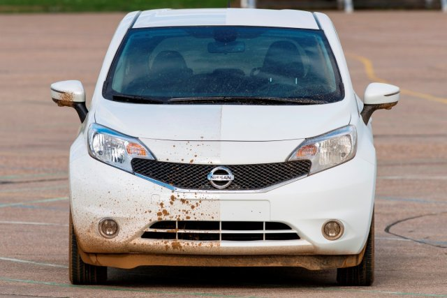 Nissan has made a self-cleaning car