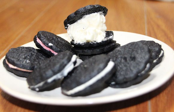 Our batch of homemade Oreos – Why didn't we think of this before?