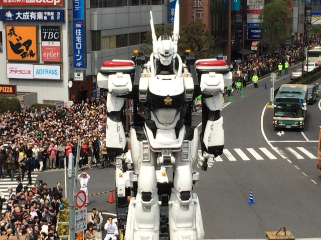 """Giant Patlabor robot stands tall in Tokyo even as film's director calls it """"useless"""" 【Photos】"""
