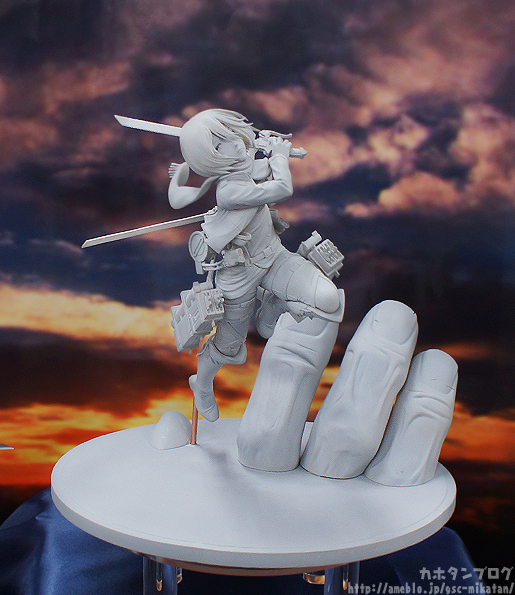 Pulchra's new Mikasa figure dodges hand of Titan