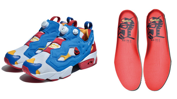 Reebok trots out Gundam sneakers in classic colors