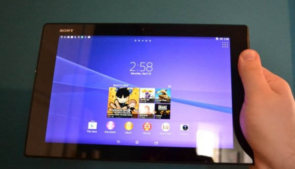 REVIEW- Sony's new tablet is thinner and lighter than the iPad Air, and Android fans will love it5