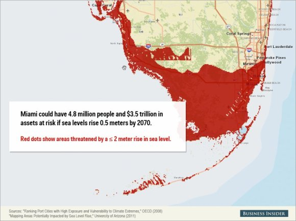 Rising sea levels could cause staggering damage to these cities4