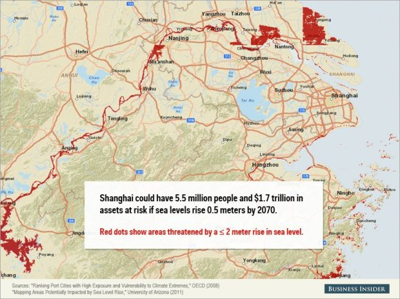 Rising sea levels could cause staggering damage to these cities5