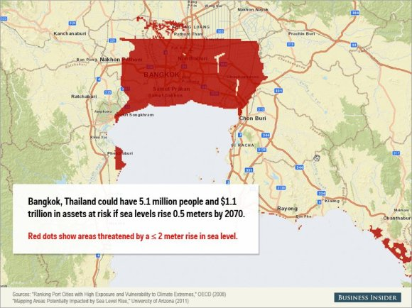 Rising sea levels could cause staggering damage to these cities6